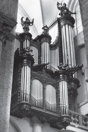Organ of the St. Sernin - Toulouse (F)